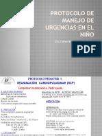Protocolo de Manejo de Urgencias en El Niño