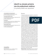 Saúde mental infantil na atenção primária à saúde - discursos de profissionais médicos