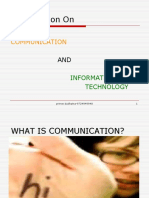 Communication & It-prince Dudhatra-9724949948