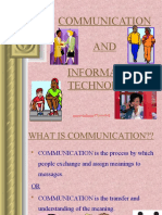 Communication and Information Technology-prince Dudhatra-9724949948