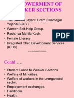 Empowerment of Weaker Sections-prince Dudhatra-9724949948