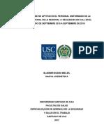 CAUSALES DE NO APTITUD EN EL PERSONAL UNIFORMADO DE LA POLICIA NACIONAL DE LA REGIONAL  (1)