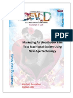 Dev D - Marketing an Unorthodox Film to a Traditional Society