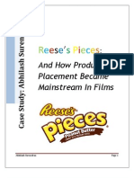 Reese's Pieces and Product Placement
