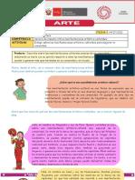 ACTIVIDAD ARTE Y CULTURA 14-07-CICLO 5