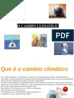 O cambio climatico (presentación de la web cuest_ do cambio cimtico))