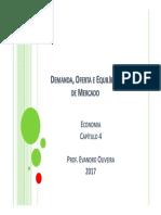 4. Demanda Oferta e Eq de Mercado Elasticidade
