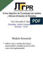 conceito do modelo essencial