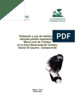 I_2006 NCI Technical Report - Alouatta palliata