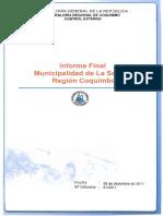 Informe Auditoría Municipalidad La Serena
