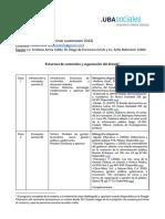 Estructura Estado Abierto, UBA, 2022