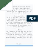 DESCRIPCION BÁSICA DE CHILE ULTIMATE