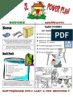 Teaching KiDS What to Do in an Earthquake