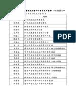 第14屆環評委員名單