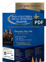 Mid-Columbia Small Business Awards Flyer