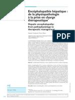 Met-302459-Encephalopathie Hepatique de La Physiopathologie a La Prise en Charge Therapeutique--Wr3bGn8AAQEAAGZkbyMAAAAE-A