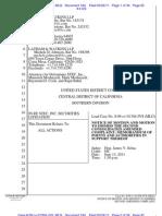 in re STEC Litigation - Defendants' Motion to Dismiss