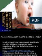 ALIMENTACIÓN COMPLEMENTARIA 2010