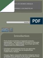 3-0 Eléments de biomécanique de l'appareil locomoteur JP Diverrez