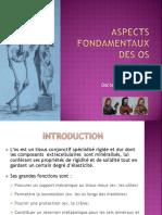 3-0 Aspects Fondamentaux Des Os JP Diverrez
