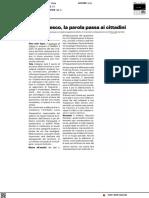 Piano Unesco, la parola passa ai cittadini - Il Resto del Carlino del 28 luglio 2021