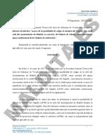 Informe Facultativo Bandera LGTBI Ayuntamiento Madrid