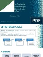 PORA01_Introducao as Teorias Administrativas