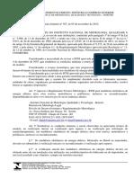 Portaria 587 (INMETRO)