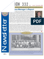 IBEW 332 Newsletter 12.2003