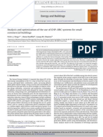 Analysis and optimization of the use of CHP–ORC systems for small