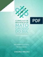 ORGANIZADOR CURRICULAR DE MATEM TICA E SUAS TECNOLOGIAS