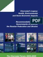Chernobyl's Legacy