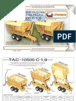 Manual e Catalogo TAC 10500 C 1-9