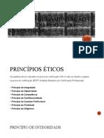 Ética, Regulamentação e Análise do Perfil do Investidor