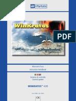 Manuale d Uso Instruction Handbook. Sistema Di Controllo Control System WINKRATOS 4.00. Cod. 519847 - Rel. 210410