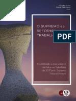LIVRO DIGITAL O Supremo e a Reforma Trabalhista - DUTRA - MACHADO 2021