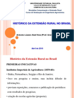 Historico Da Extensao Rural No Brasil 2018
