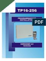 Manuale ITA TP16256 Programmazione Ver 05