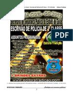 05 - MÓDULO DE NOÇÕES DE DIREITO PROCESSUAL PENAL - ESCRIVÃO DE POLÍCIA DE 3ª CLASSE - PC GO 2012