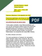 Os Apóstolos Da Nova Era-3set1991-Pag.836-Cenaculo28jul21