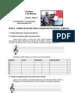 Mini-Curso de LEM e Harmonia - Fernando Cardoso - Aula 5