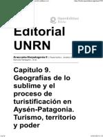 Capitulo9 Geografias de Lo-sublime y El Proceso de Turistificacion en Aysen Patagonia