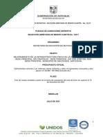 Pliegos de Condiciones Definitivos Proceso 12217 - 26072021