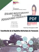 Taller de Ideario Bolivariano
