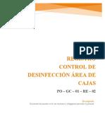 Po-gc-01-Re-02 Control de Desinfeccion Area Cajas