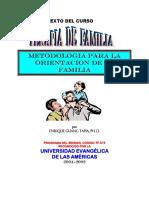 METODOLOGIA PARA LA ORIENTACION DE LA FAMILIA