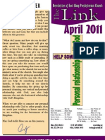 April 2011 Link Newsletter