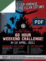 60 Hour Challenge 2011