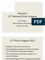 Vietnam's 11th National Party Congress