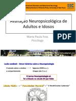 20170812 Avaliação neuropsicologica de adultos e idosos